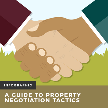 A guide to property negotiation tactics infographic