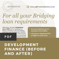 Development Finance (Before and After)
